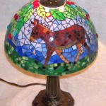 Donkey Lamp On 1