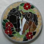 Stone w 2 Horses for Steve - Tammi